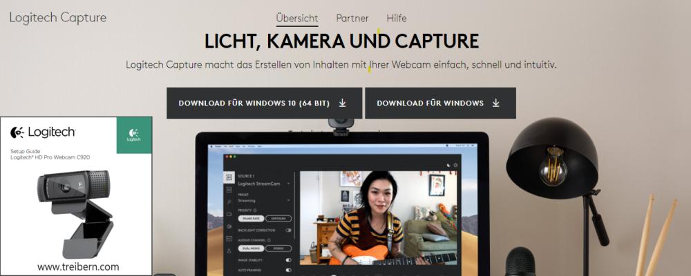 Logitech Capture Webcam Software